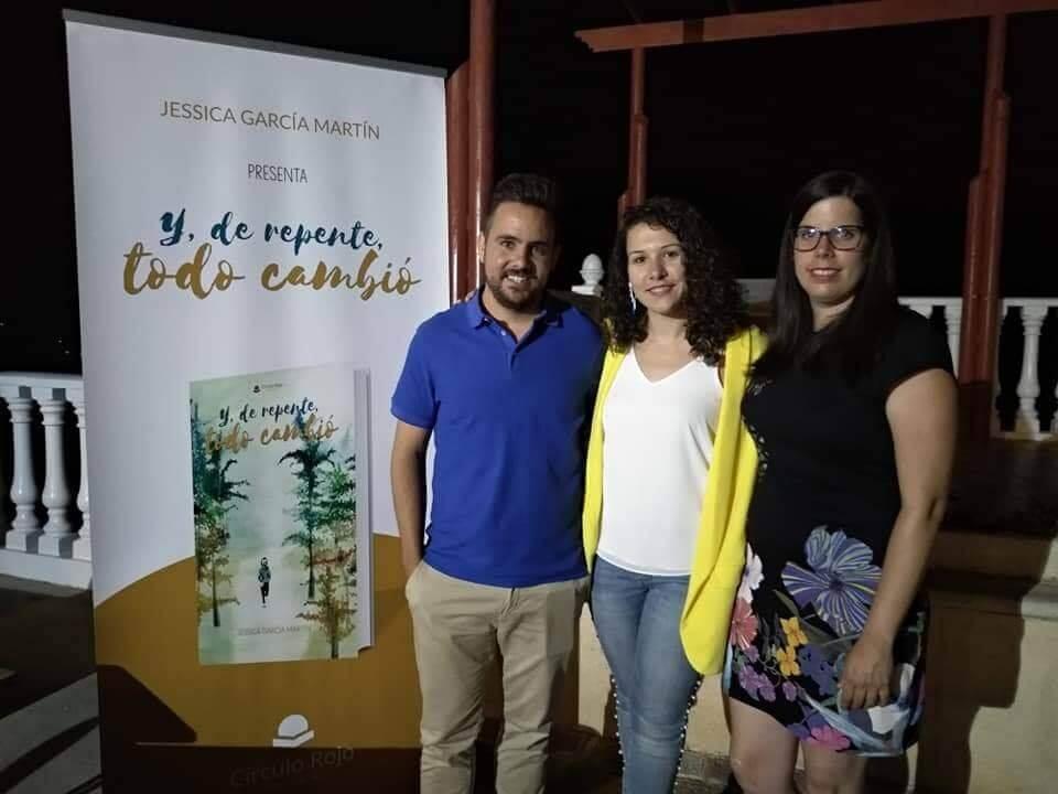 Agustín, Jessica y Almudena