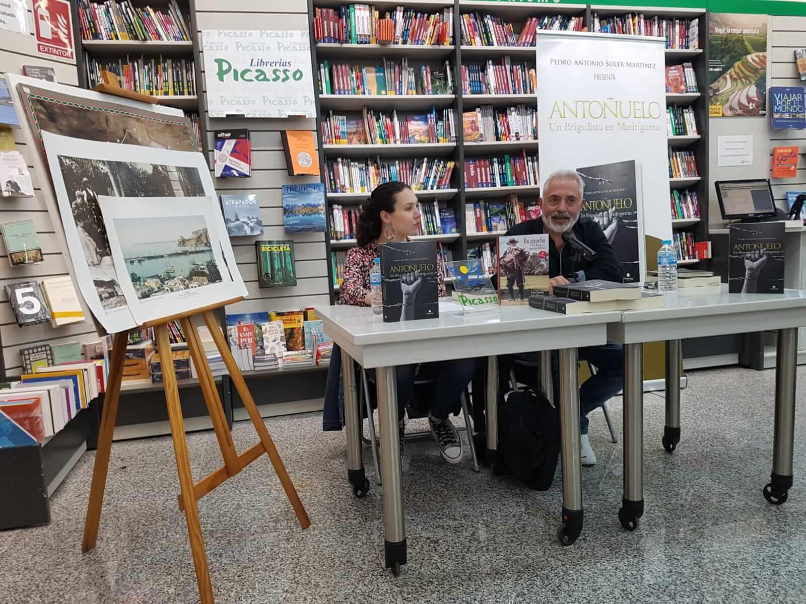 Presentación «Antoñuelo. Un Brigadista en Madrigueras»