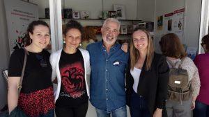 Jessica García, Raquel Berenguel, Pedro Soler y Judith Sánchez