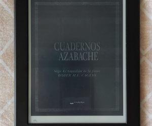 Cuadernos azabache – Rober H. L. Cagiao